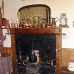 Bar Fireplace at The New Inn