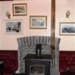 Main Fireplace at The New Inn